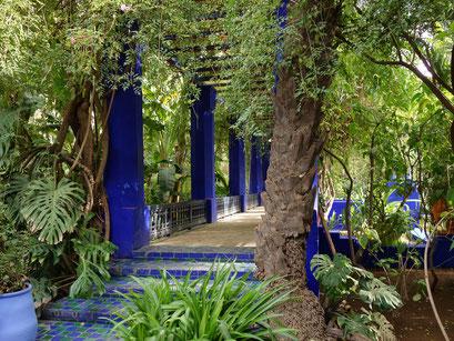 Jardin Majorelle von Yves Saint Laurent.