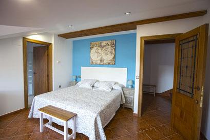 Dormitorio. La Casona de Cuéllar