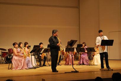 ゲストの雲井雅人、原博已の両氏による熱演!そこにいる誰もが釘付けでした!