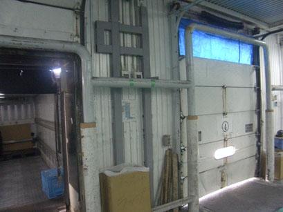 電動オペレーター鉄骨工事の工事写真
