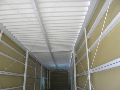 貸し倉庫新築工事の工事写真