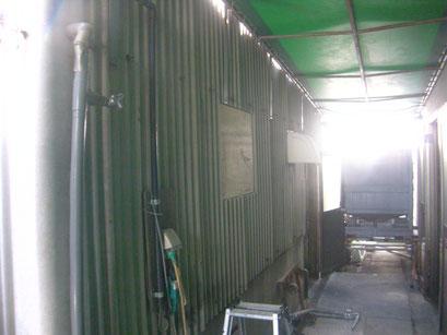 換気扇増設工事の工事写真
