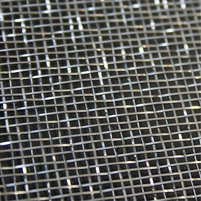 Mesh steel 121 FG Metalle in Glas