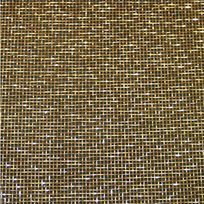 Mesh brass 011 FG - Metalle in Glas