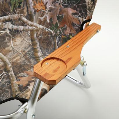 圧縮杉のアームレスト