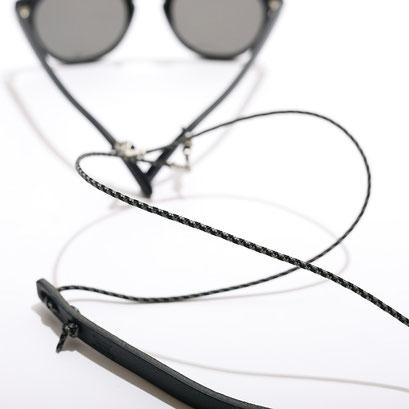ブラック/グレーミックス/シルバー金具