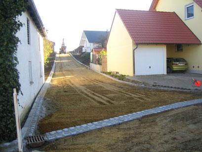 Straßensanierung - Vollausbau