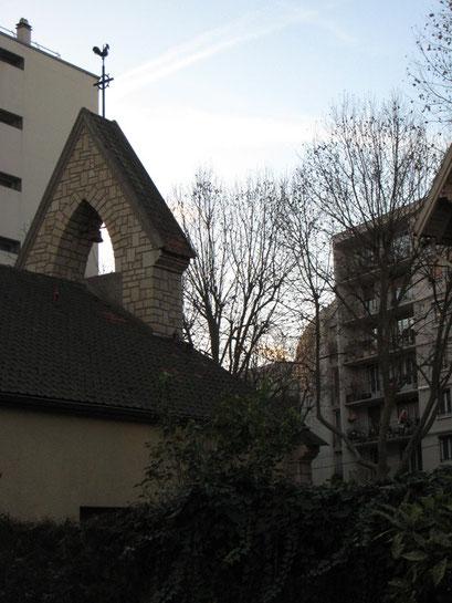 Eglise Saint-Joseph - Vue vers le presbytère - 7/12/2013