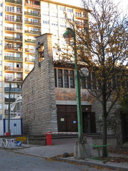 Eglise Saint-Joseph - Rue Henri Barbusse - 7/12/2013