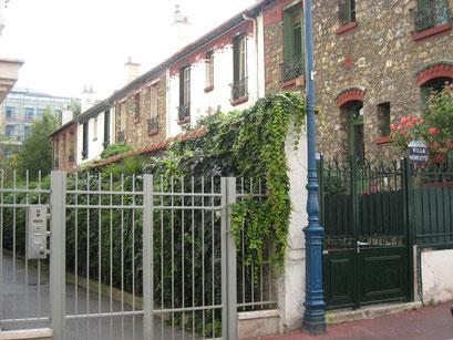 Villa Henriette - Vue de la rue Molière - 5/10/2013