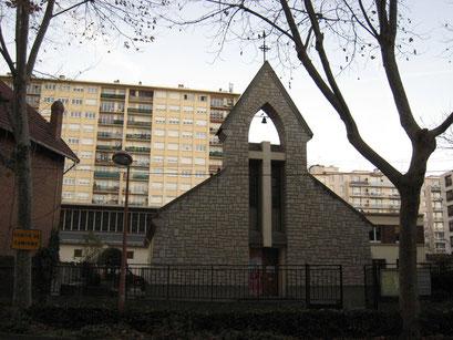 Eglise Saint-Joseph - Presbytère sur l'av. Jean Jaurès - 7/12/2013