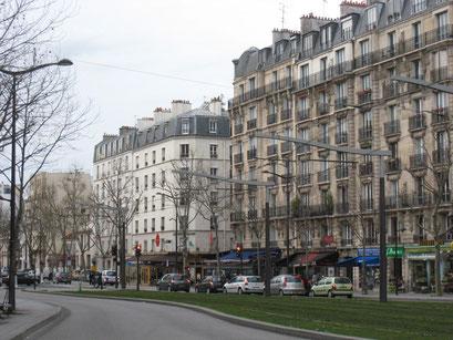 Aux abords du Tram, boulevard Brune, Paris 14e - 29/03/2014