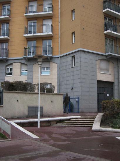 Allée de la Vallière à Montrouge - Non loin du cimetière Parisien de Bagneux - 9/11/2013