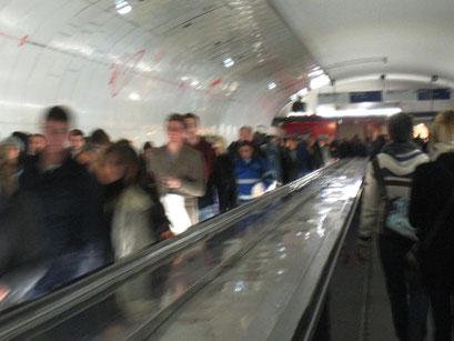 Gare Montparnasse - changement - 2/11/2013
