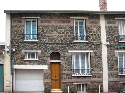 Rue Corneille - Pavillon en meulière - 5/10/2013