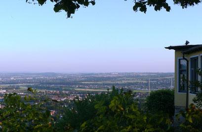Balberg-Aussicht über Radebeul