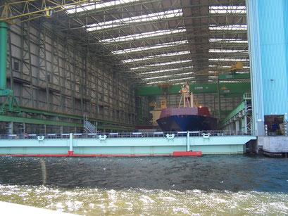Werft in Wismar