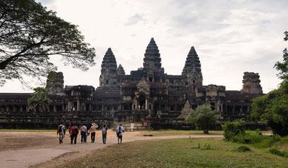 Angkor Wat vom Osttor aus