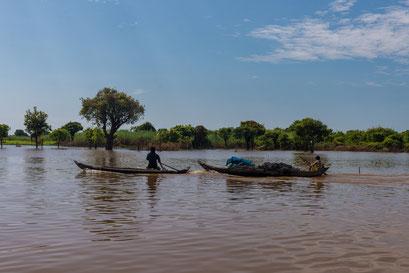 Tonle Sap See: schwimmende Dörfer