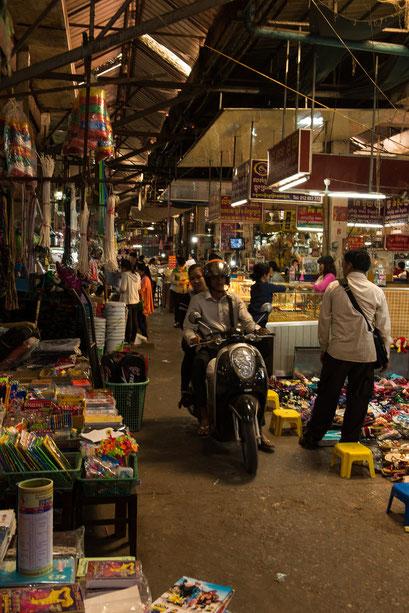 Einheimischen Markt in Siem Reap