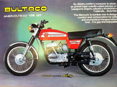 Bultaco Mercurio GT