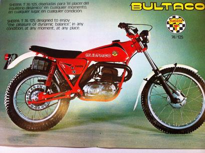 Bultaco Sherpa 74/125