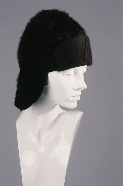 hatmaker Anja Kaninck / Russenkappe · Fliegerkappe · Wintermütze · Filzmütze · Ohrenkappe / braun / Hamburg