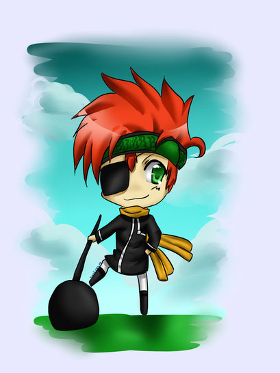 Lavi aus D. Grey Man ~ Painttool Sai