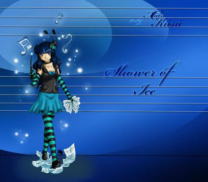 Shadow of Ice ~ Bild zu einem Lied von matn C. ~ Paintool Sai