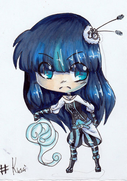 Chibi Kusú ~ Copic Marker ~ A6
