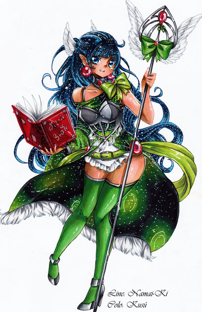 Zeichner: Namai-Ki ~ Facebook ~ Copic Marker