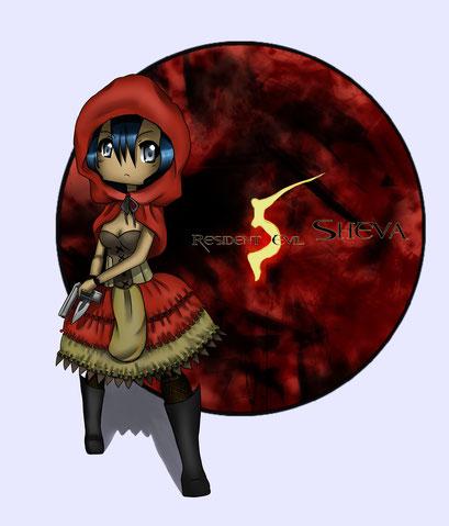 Shiva Alomar ~ Resident Evil 5 Chrakter ~ Painttool Sai