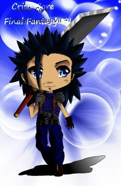 Chibi Zack aus Final Fantasy ~ Gimp