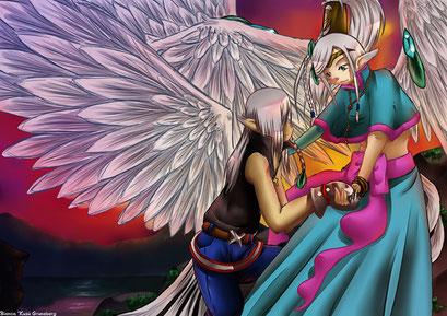 Arttrade II mit Xuran ~ Painttool Sai