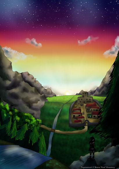 Landschaftsbild ~ Painttool Sai