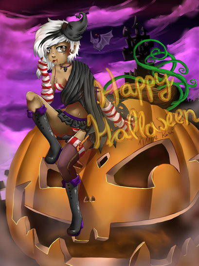 Happy Halloween ~ Painttool Sai