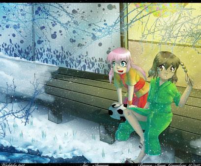 Wichtelbild für Aprikoko ~ Wichtelaktion 2012 ~ Painttool Sai & Photoshop