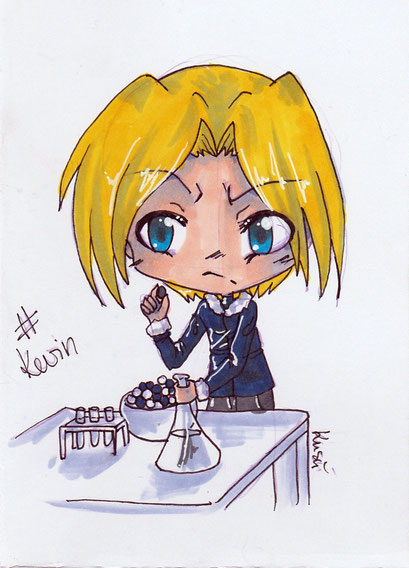 Chibi Kevin ~ Copic Marker ~ A6