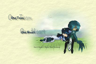 One team - One Heart ~ Kusú & Masato ~ Painttool Sai