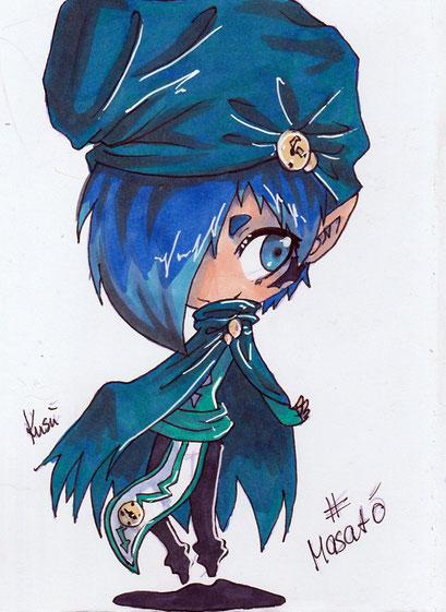 Chibi Masató ~ Copic Marker ~ A6