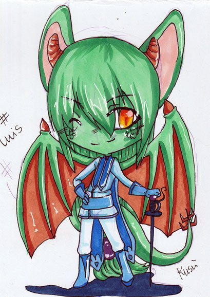 Chibi Luis ~ Copic Marker ~ A6
