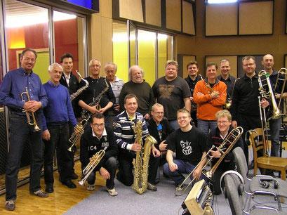 Big Band Föhn unter der Leitung von Roger Trottmann