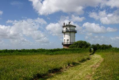 Der alte Baljer Leuchtturm
