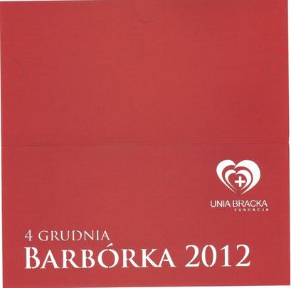 Kartka Barbórka 2012