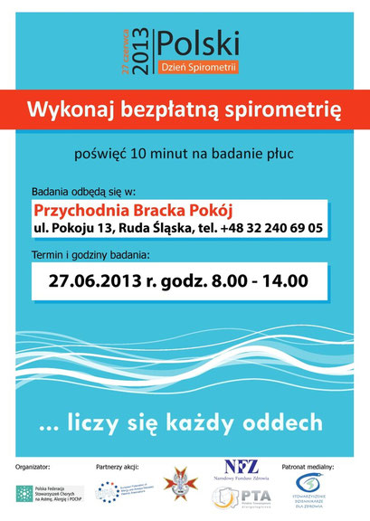 Plakat spirometria