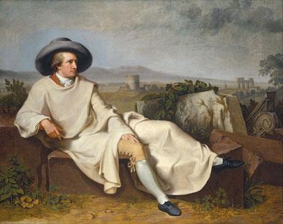Goethe in der Campagna