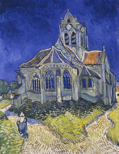 Die Kirche von Auvers