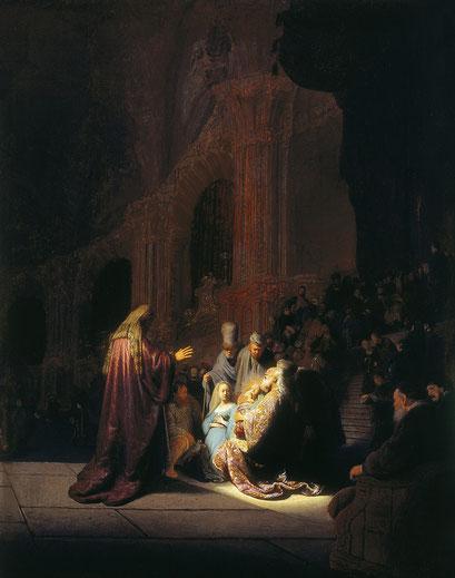 Die Lobpreisung Simeons