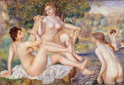 Die großen Badenden, Renoir