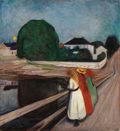 Die Mädchen auf der Brücke